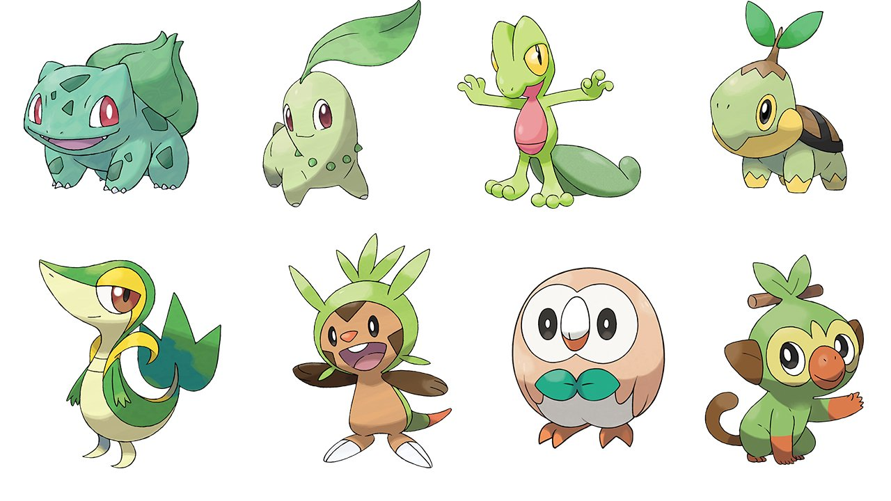 Chikorita Defense Squad Along with scorbunny and sobble. wordpress com